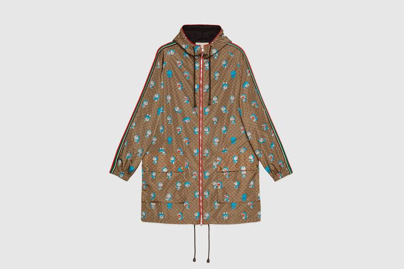 Doraemon Gucci Capsule Collection Release Info Buy Price Jacket Hoodie Shirt Knit Sweater Pants Shorts Suitcase Bag Wallet Shoe Sneaker Watch Iphone Case Scarf chinese new year collaboration
