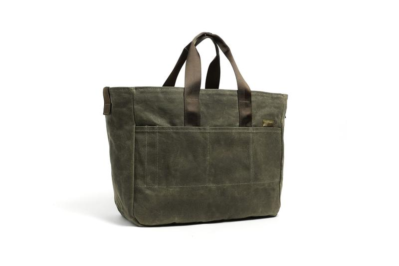 dsptch 10th anniversary 18oz waxed canvas craft collection shoulder bag work tote weekender