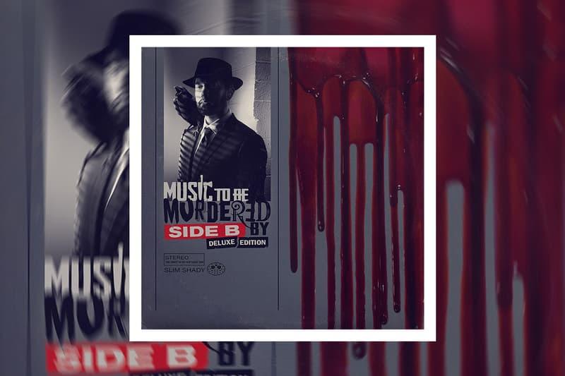 Eminem Music To Be Murdered By Deluxe album Stream skylar grey dj premier ty dolla sign dr dre