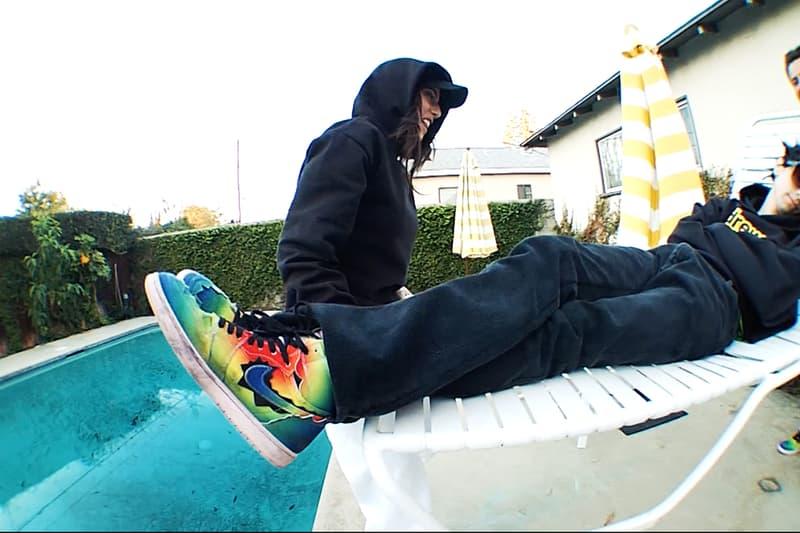 Erik Arteaga Skates J Balvin Air Jordan 1 Retro High OG Video Release info Date Buy Price burberry.erry
