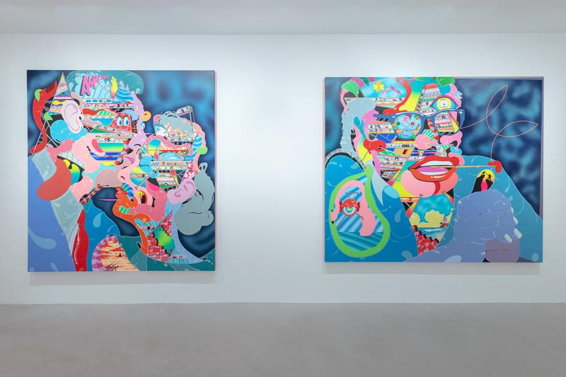 erik parker new solitude over the influence hong kong exhibition artworks paintings