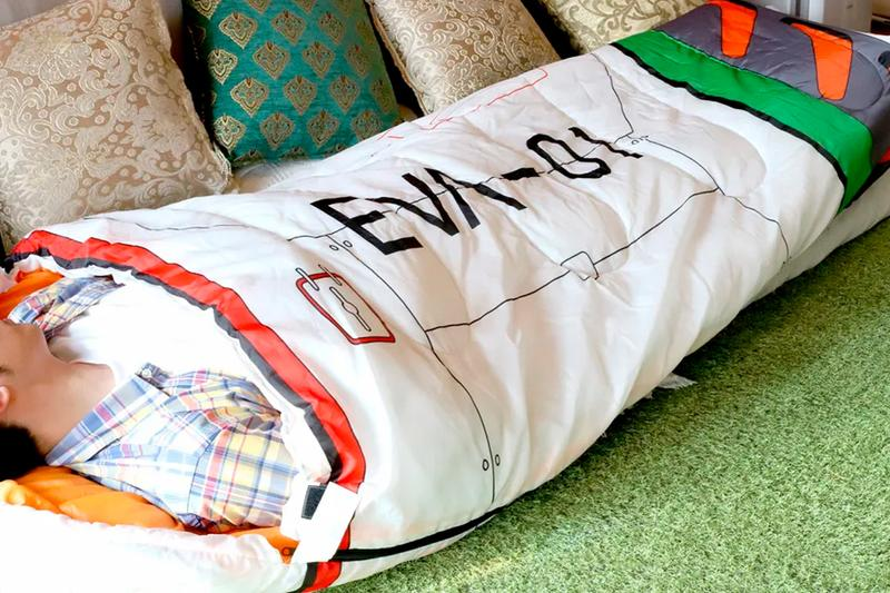 Evangelion Entry Plug Sleeping Bag Release Info Buy Price Store Shinji Ikari Last Movie 4.0 3.0+1.0 Thrice Upon a Time