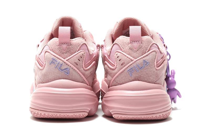 FILA atmos BAD MOOD floater sneaker release information rabbit