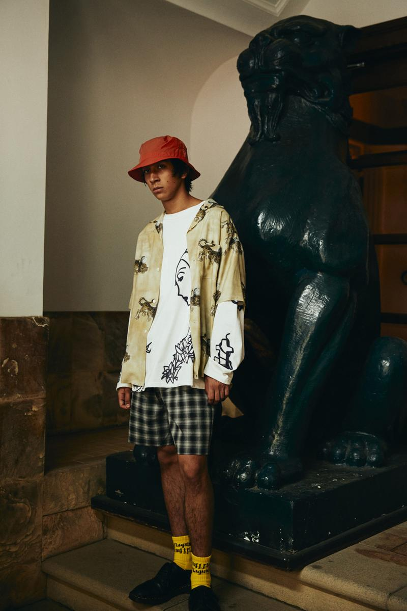 F-LAGSTUF-F Spring/Summer 2021 Collection Lookbook ss21 japan gavin watson dickies blackmeans collaboration jacket pants release date info buy web store site