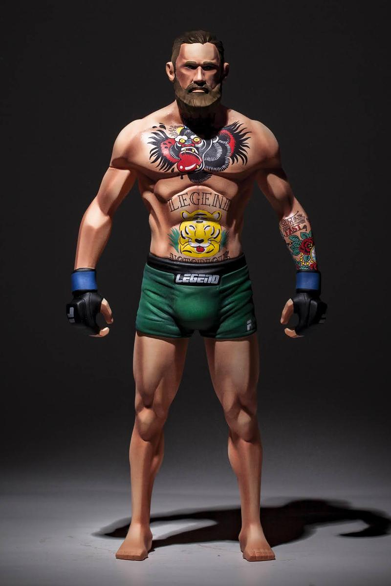 Fool's Paradise Conor Mcgregor-Inspired NOTORIOUS Figure MMA UFC Hypebeast Figures Collectibles toys Irish fighter sports