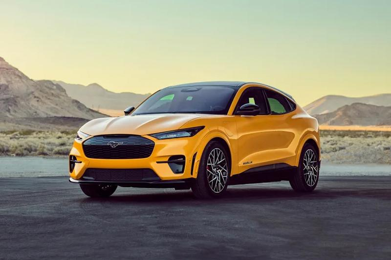 ford mustang mach e gt grand tourer performance edition tuning electric cars vehicle 480 horsepower