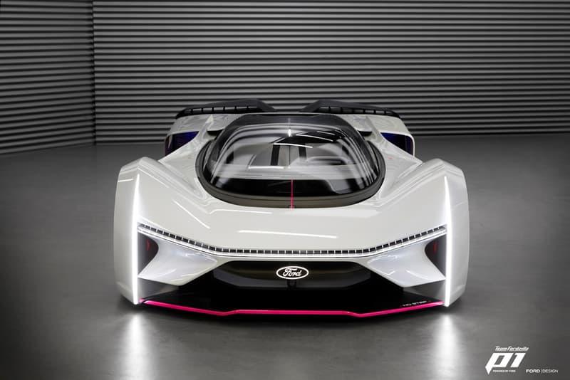 Ford P1 eSports Team Fordzilla Virtual Race Car Real Life Hypercar Build Jaguar Vision Gran Turismo SV Gaming Gamers Votes Community Built Racing