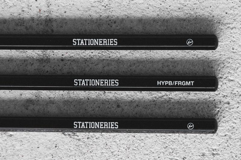 fragment design HYPEBEAST STATIONERIES Drop 2 Release Info Buy Price Uni Drawing Pencil Fire King Mug Thor Totes Round Container lid Astro Deck Grip tape Pilot Frixion Ball3 3-Color 0.5mm Ballpoint Pen