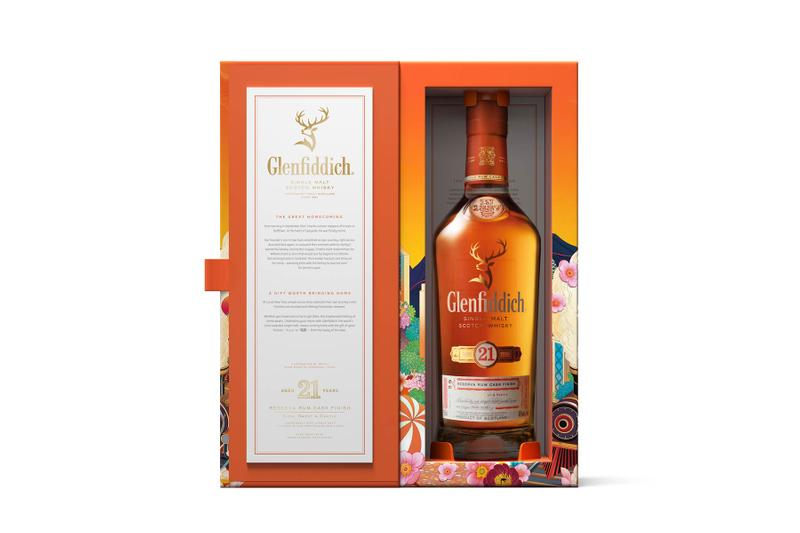 Glenfiddich Rlon Wang The Royal Stag Homecoming 21 Single Malt Scotch Whisky The Joy of Homecoming