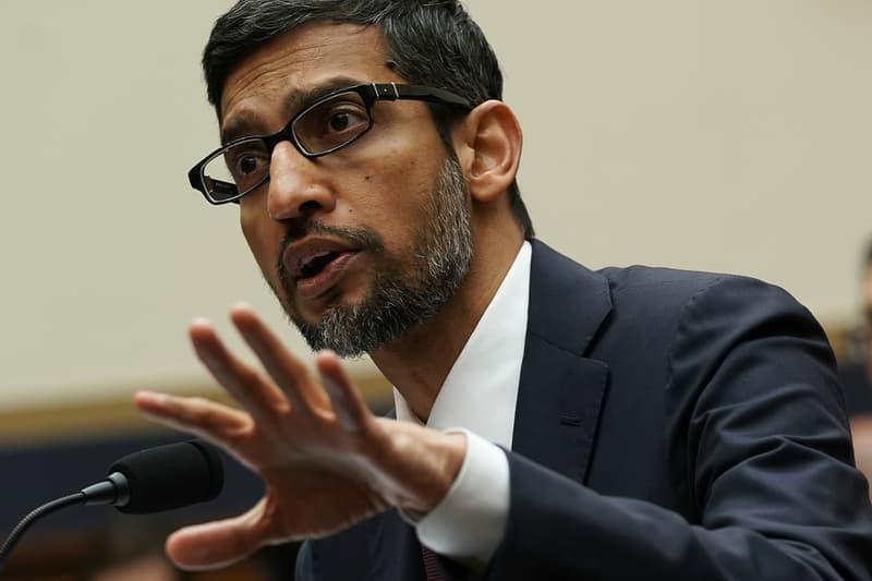 google sundar pichai search engine monopoly bing united states department of justice antitrust lawsuit legal formal response DuckDuckGo bing