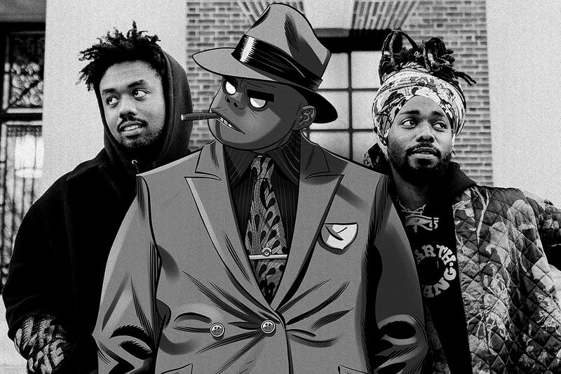 "Gorillaz 'Song Machine, Season One: Strange Timez' EarthGang Interview ""Opium"" Collaboration Seventh Studio Album Damon Albarn Song Machine Live From Kong"