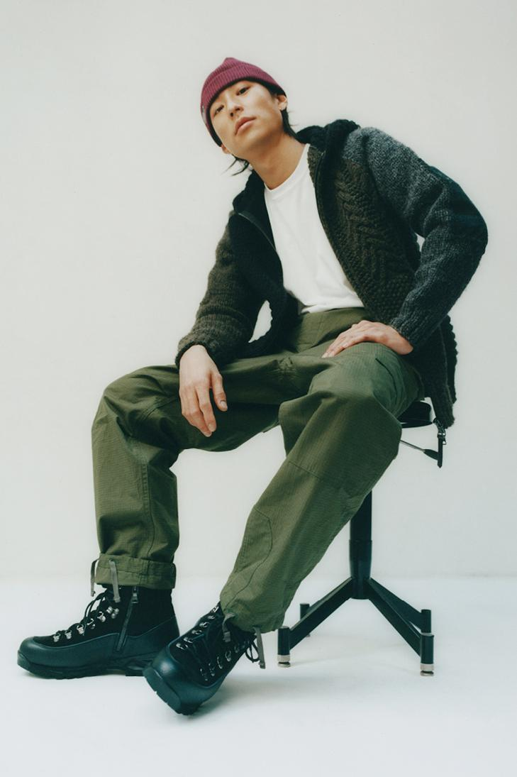 haven toronto canada engineered garments cascadia collection military workwear details