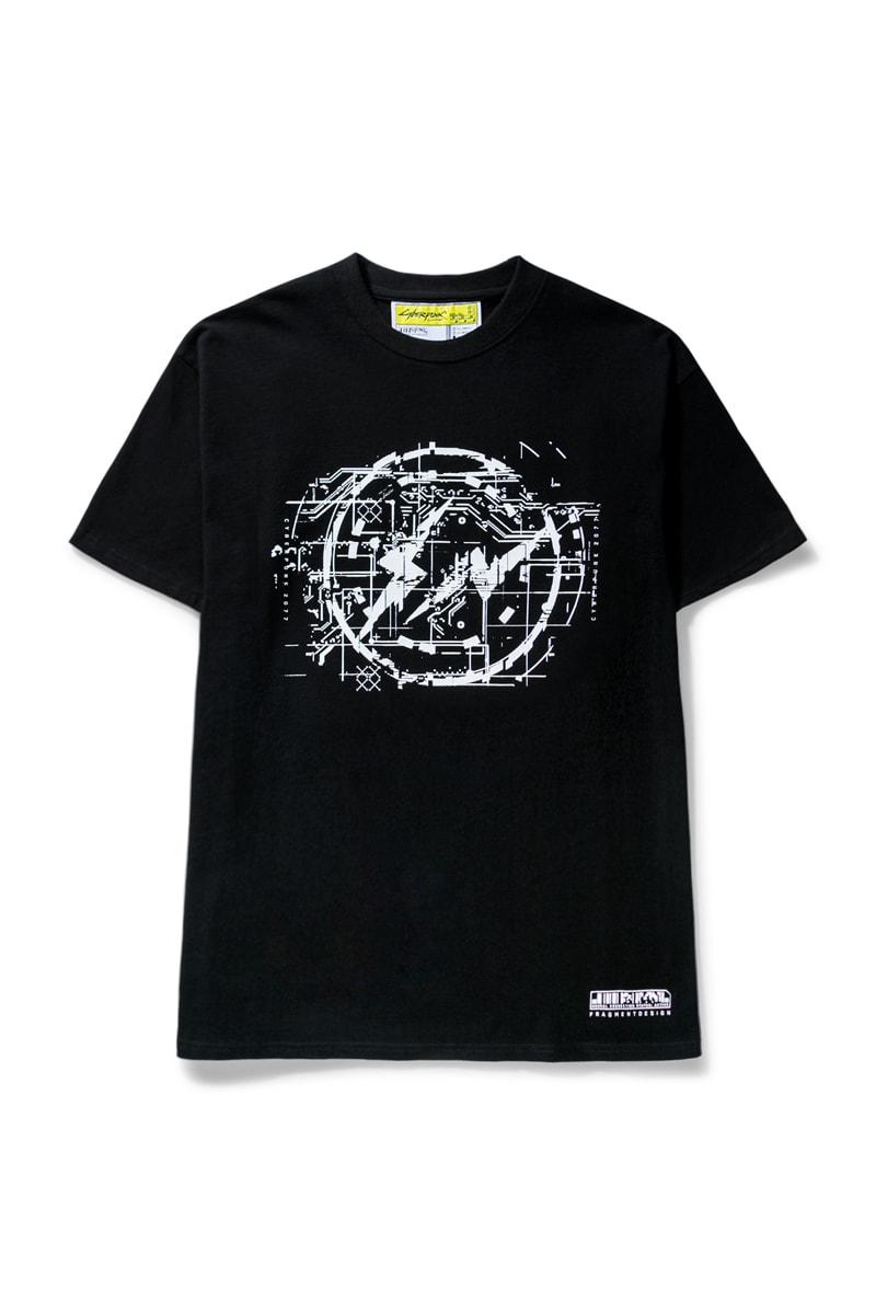 cyberpunk video game gaming hiroshi fujiwara fragment streetwear japanese collaboration collection