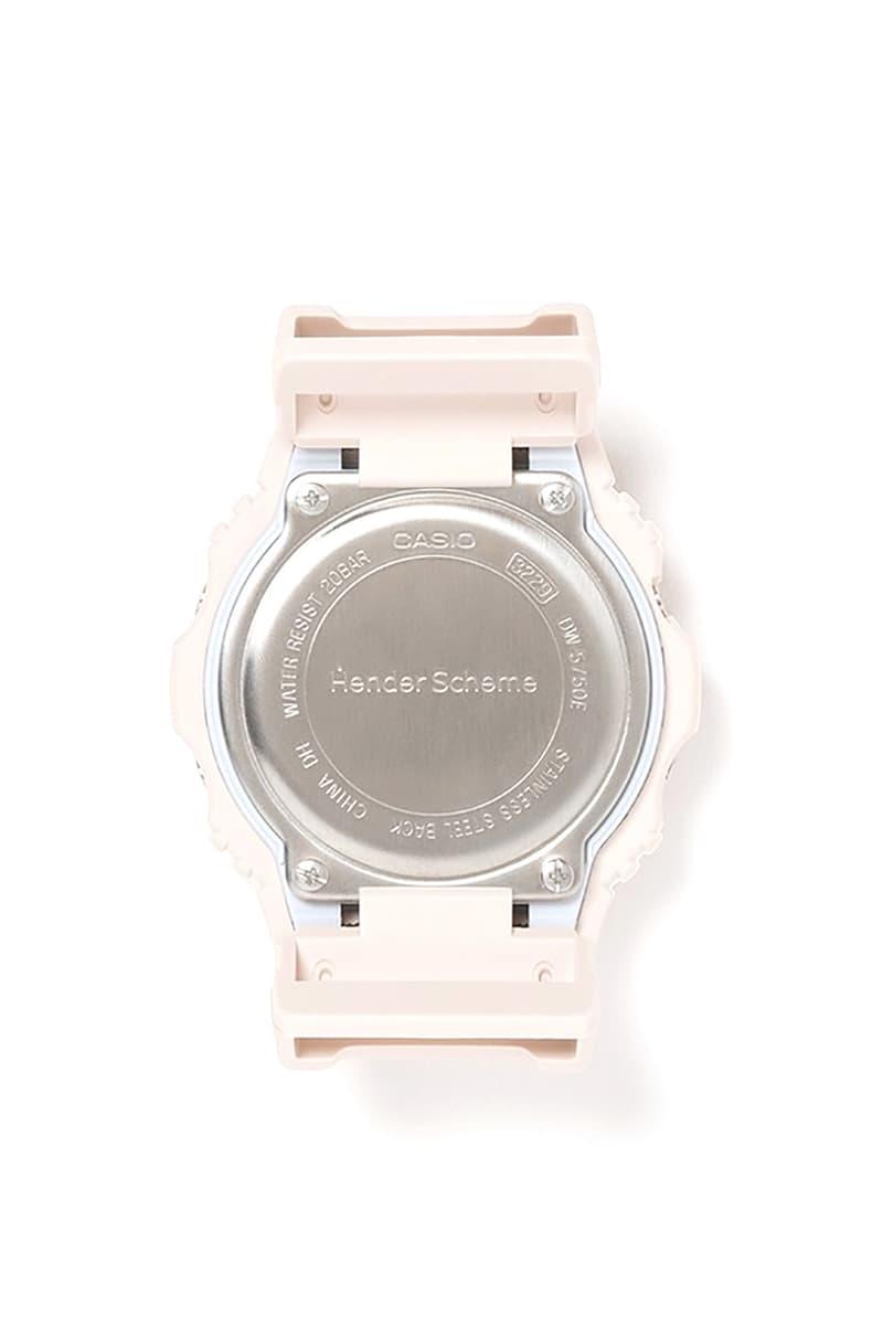 hender scheme g-shock DW 5750 watch release info pricing buying guide store list photos tan brown