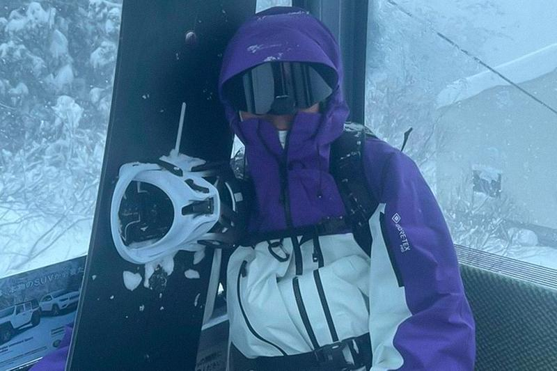 Hiroshi Fujiwara New Burton AK457 Snowboarding Colors Teaser Purple Black