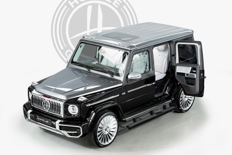HOFELE Mercedes-Benz G-Class G-Wagon G63 AMG Ultimate Luxury German Automotive Coach Doors Suicide Door VIP Lounge Conversion Limo SUV