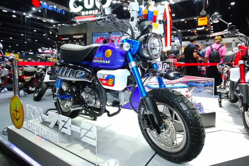 Honda Thailand Gundam Z Series Mini Motorcycles bikes 125cc RX 78 2 Mobile Suit MS 06S Chars Zaku II collectible
