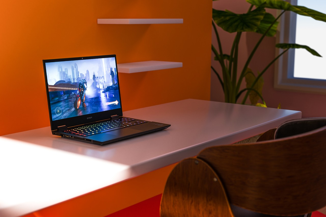 design gaming OMEN 15 New York creative director designer sleek ultra-thin design 10th Generation Intel® Core™ i5 processor and NVIDIA® GeForce® RTX 2070 SUPER™ with Max-Q design graphics Play to Progress creative process output responsiveness to users, 15.6