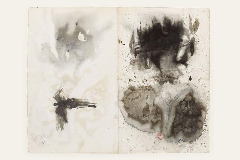 huma bhabha unsuspected solo online exhibition david kordanksy gallery artworks paintings sculptures works on paper