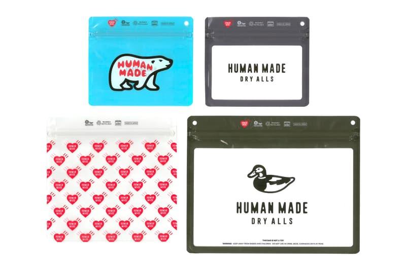 HUMAN MADE UNDERCOVER Pake Zip Bag Capsule Laforet Harajuku Pop-Up Release Info Buy Price