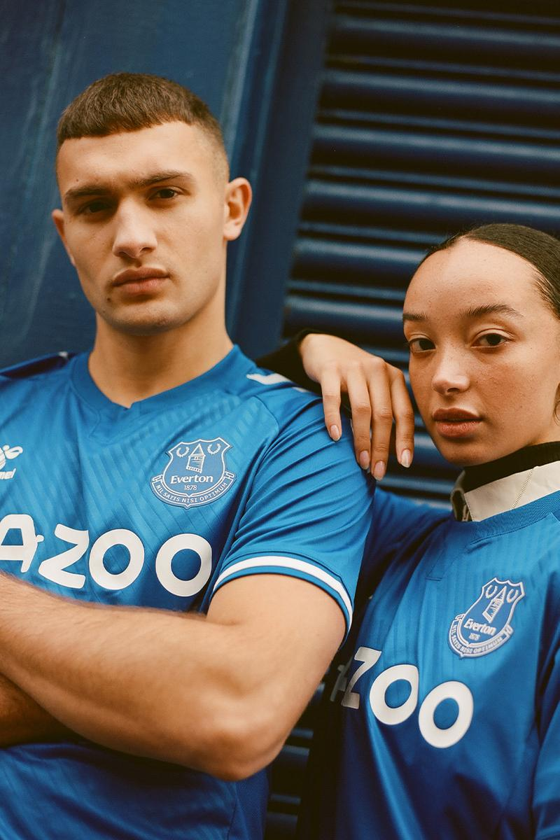 hummel hive spring summer 2021 football Everton club soccer preview