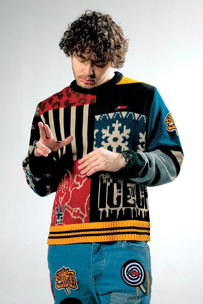 BBC ICE CREAM Winter 2020 Lookbook collection menswear streetwear w20 jack harlow rapper hip hop sweaters hoodies jackets holiday prints billionaire boys club