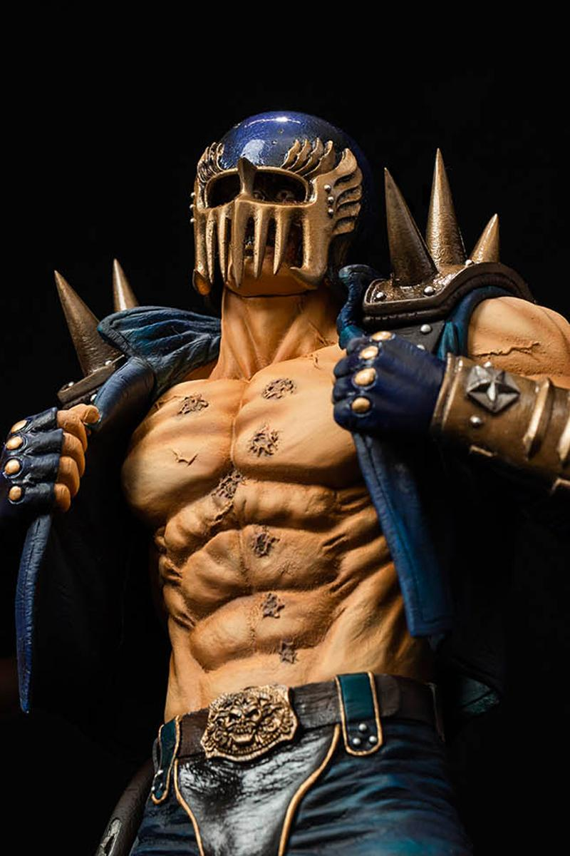 SpiceSeed Enlists Tetsuo Hara for Detailed 'Fist of the North Star' Jagi Figure toys anime manga
