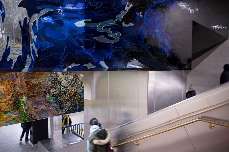 jim hodges permanent installation grand central terminal new york city