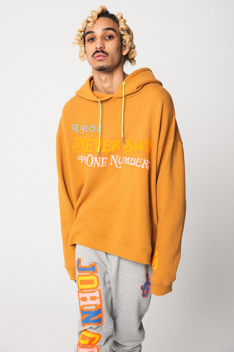 john geiger jg szn season 2 collection varsity jacket hoodie i just never save phone numbers hoodie cargo pants 002 og shoes official release date info photos price store list buying guide
