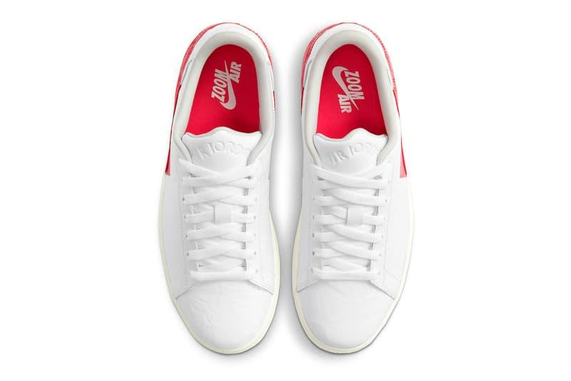 Jordan Centre Court White University Red First Look Release Info dj2756-101 Sail The Last Dance Buy Price Michael