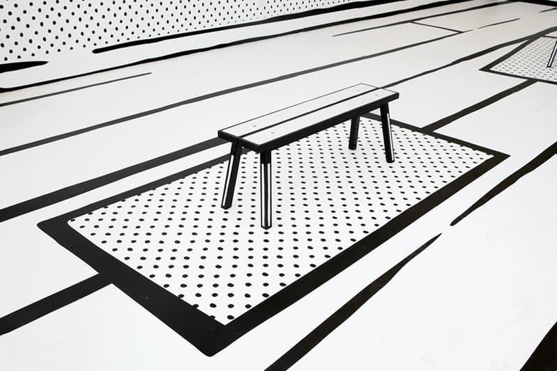 Joshua Vides Solo Art Exhibit Installation LA When Time Stood Still