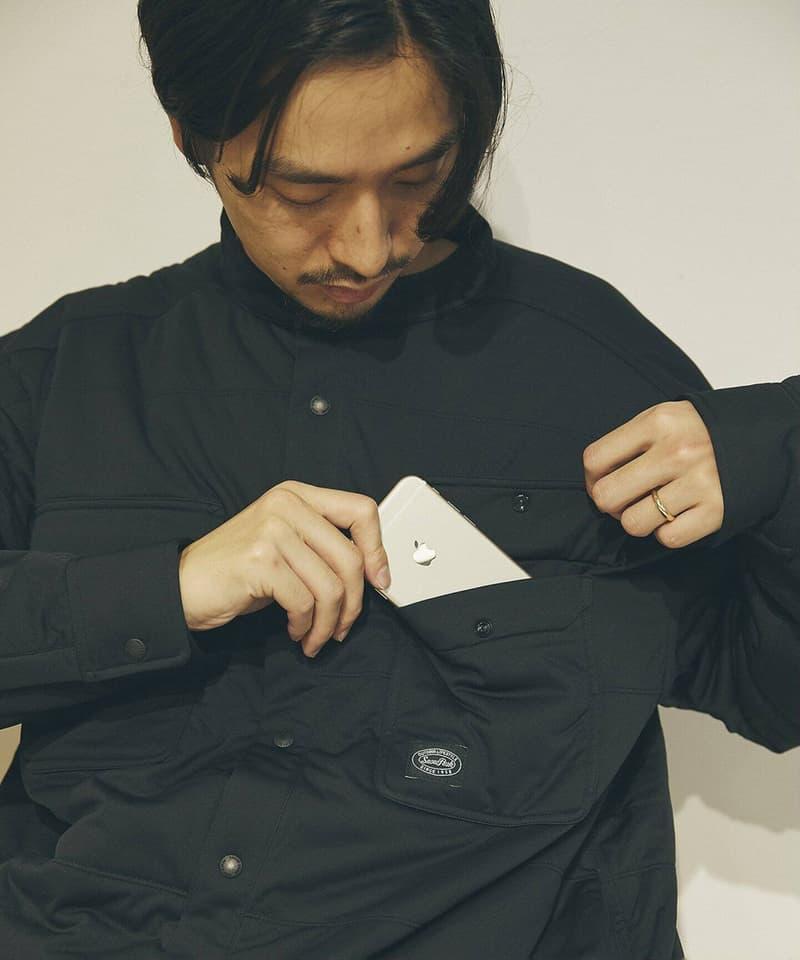 Journal Standard x Snow Peak FW20 Exclusive Items jacket shirt big insulation fleece china jacket Baycrews japan