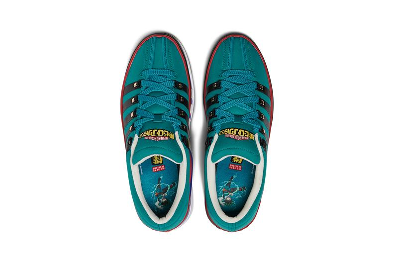 my hero academia funimation Izuku Midoriya All Might k-swiss classic 2000 x blue green release information greenhouse footlocker
