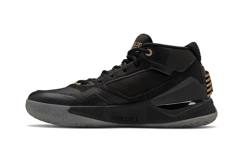 kawhi leonard new balance black gold signature shoe official release date info photos price store list buying guide