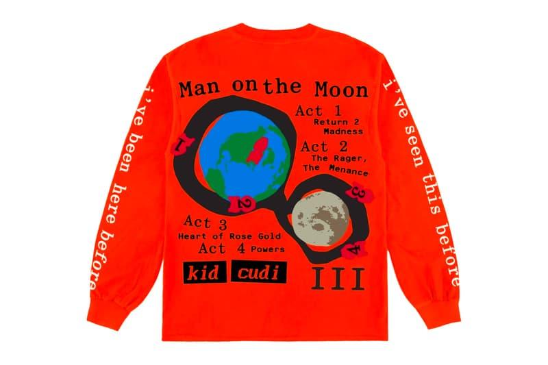 Kid Cudi Cactus Plant Flea Market Man on the Moon III Collection Release Info Buy Price T shirt Hoodie Sweatpants crewneck sweater