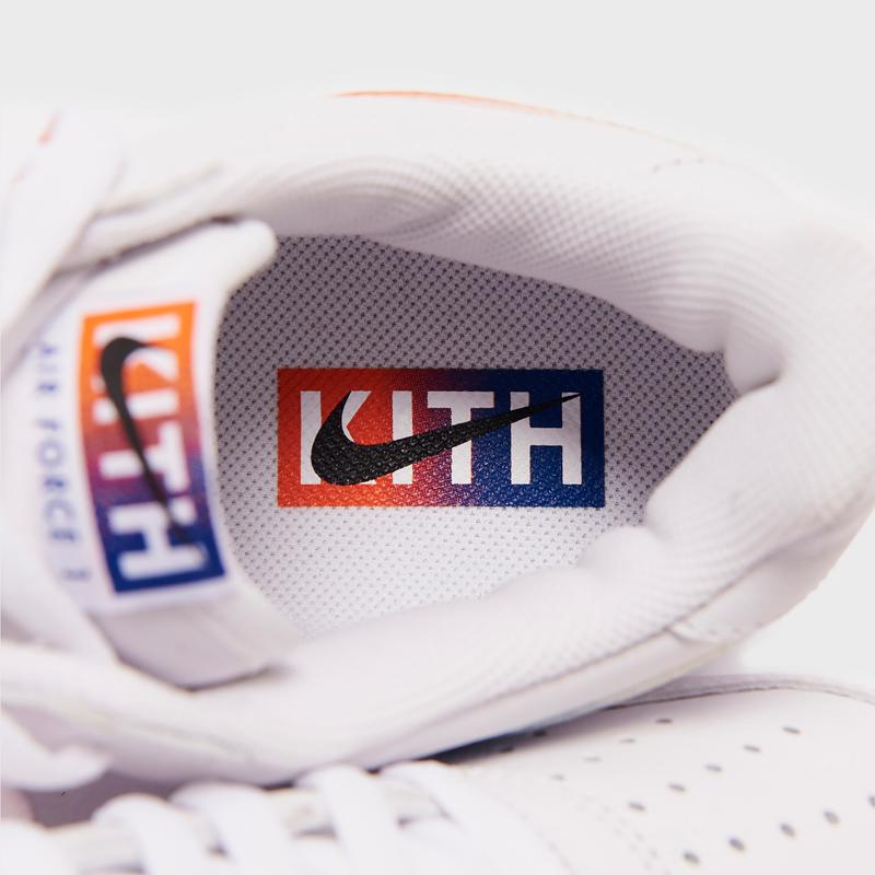 kith nike sportswear air force 1 low nyc new york city knicks ronnie fieg white blue orange cz7928 100 official release date info photos price store list buying guide