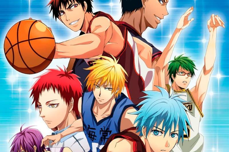 Kuroko's Basketball Anime Netflix Announcement Info Kuroko no Basuke Date