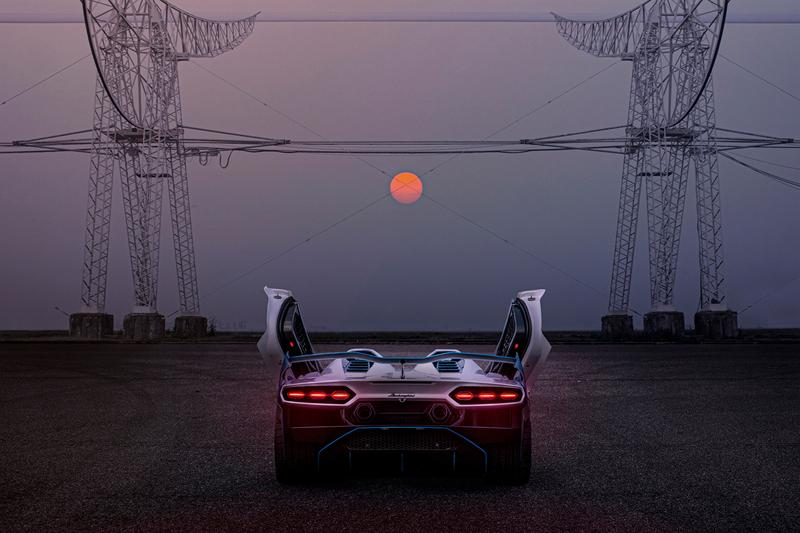 Lamborghini SC20 Squadra Corse Carbon Fiber Body Kit Unique 1-of-1 One Off Custom Built Italy Design Supercar Hypercar Open-Top Track Cars V12