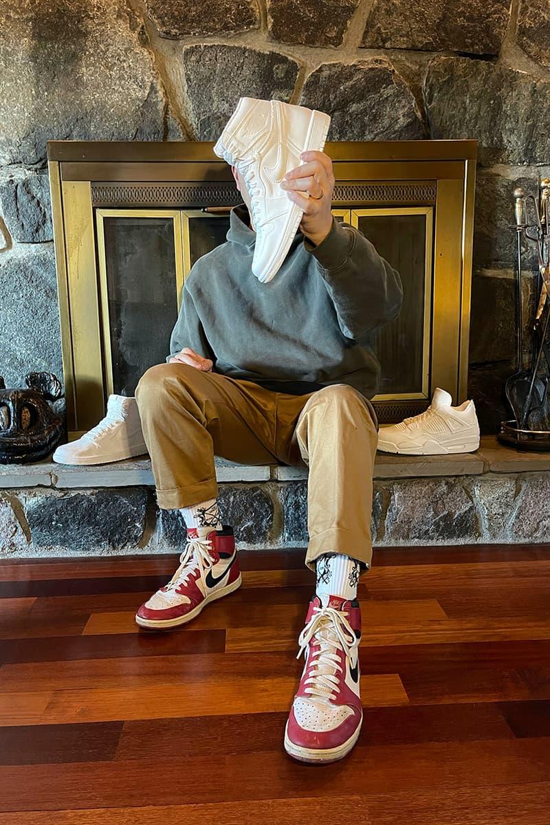 League of Their Own OTO Sole Mates HYPEBEAST Exclusive New York City Washing D.C. Art Collective HYPE Collectibles Air Jordan 1 Dior Daniel Arsham Snarkitecture Cast AJ1 Nike Jordan Brand KAWS Air Jordan 4 IV Black Gray Parra SB Dunk Low Takashi Murakami Vant Vault Slip On Signed Closer Look Interviews Sunday Reads COVID-19 Coronavirus Lockdown Collection Wardrobes Sneaker Closet Expensive NYC Designer Artists
