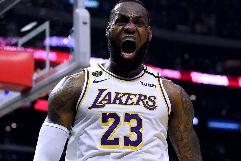 Lebron James NBA History Double-Digit Scoring 1000 Consecutive Games Ten Plus Points First Player Record Announcement