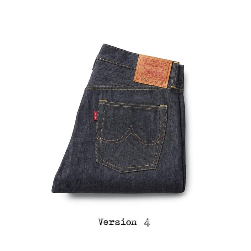 "Levi's Vintage Clothing ""Perfect Imperfections"" LVC white oak cone mills denim collection 1944 jeans"