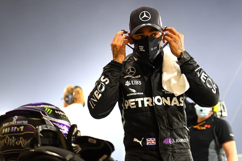 lewis Hamilton covid 19 positive misses Bahrain grand prix mercedes
