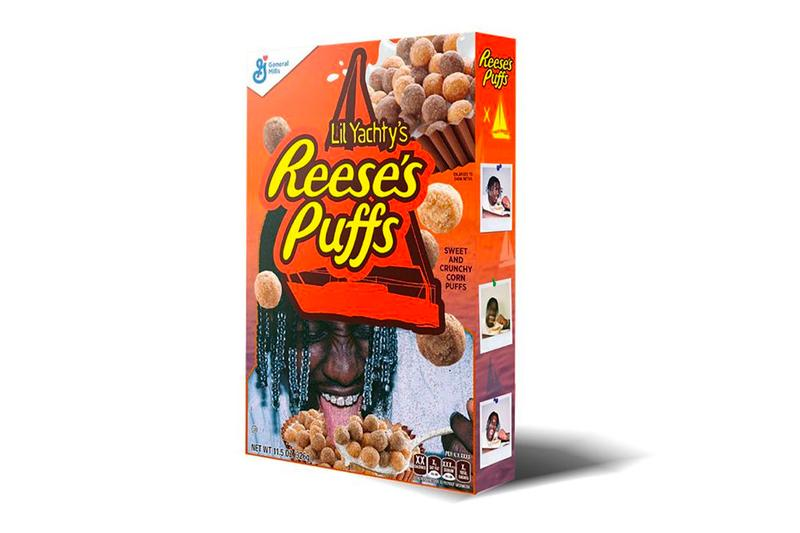 lil yachty reeses puffs collaboration cereal box release interview