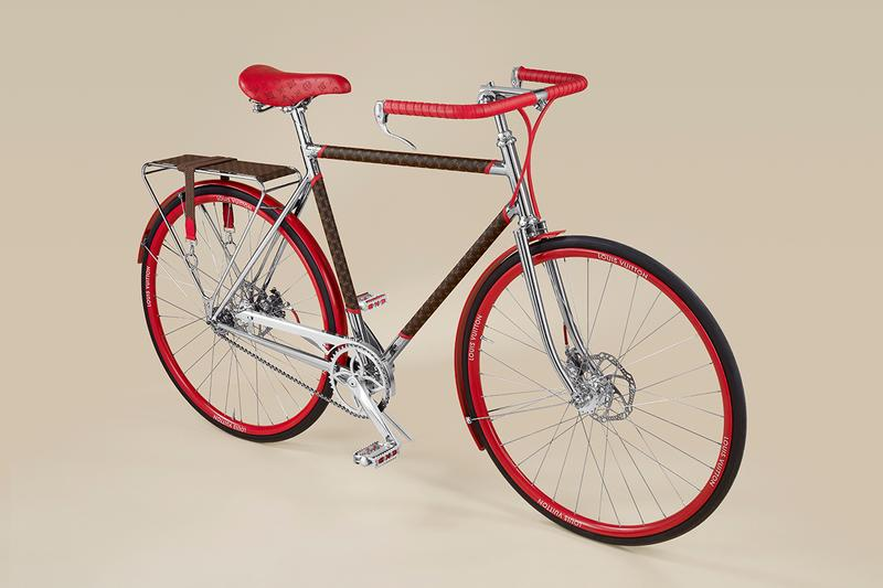 Louis Vuitton x Maison TAMBOITE LV Bike Bicycle Monogram Leather Limited Edition Collectible Rare Design Automotive Transportation Device City Virgil Abloh Hand Made Paris