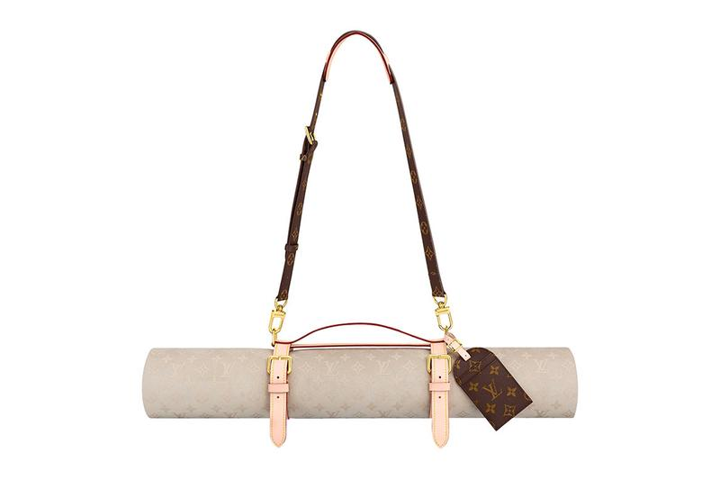 Louis Vuitton Tennis Racket Cover Yoga Mat Thermos Holder Release Info Buy Price Monogram