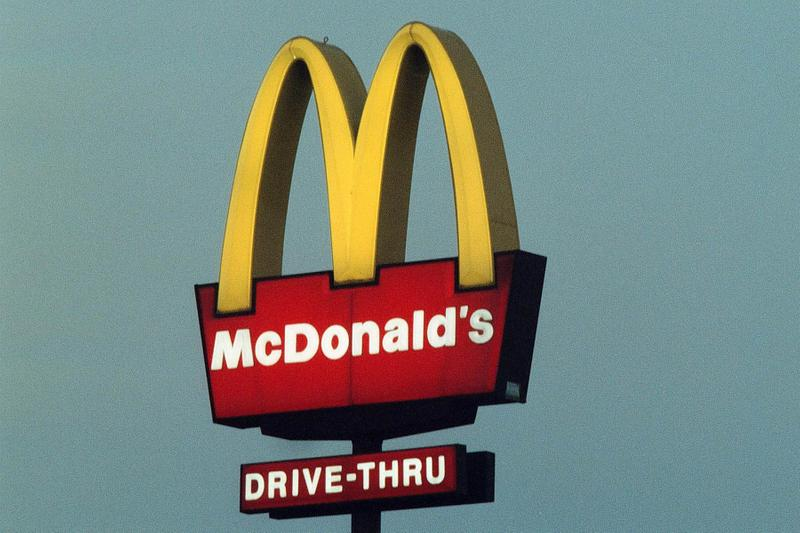 McDonald's Monolith Drive Thru Tweet Info Oreo McFlurry food fast food drive-thru Utah Monolith Romania
