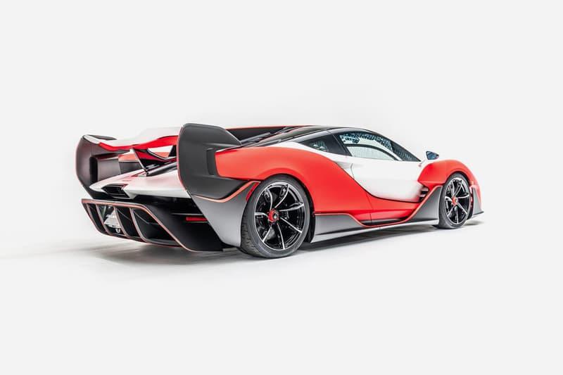 mclaren sabre 824 horsepower hypercar supercar racing unveil reveal v8 engine