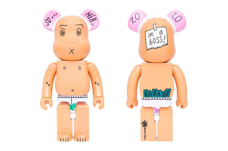 Edison Chen 3125C OBJECTIVE Medicom Toy EDC BEARBRICK figure toys collectibles fall winter 2020 collection fw20