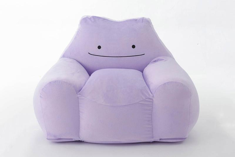metamon ditto Pokémon soft chair release CELLUTANE Japan seating Pokemon plush pikachu cartoons anime manga home