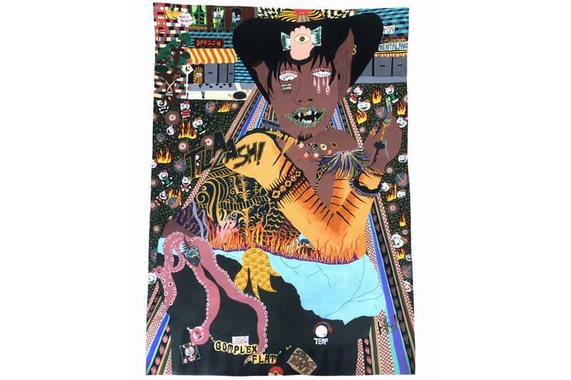 miranda OR cultural hub Miyashita Park exhibition shibuya tokyo Japan pop up presentation original paintings